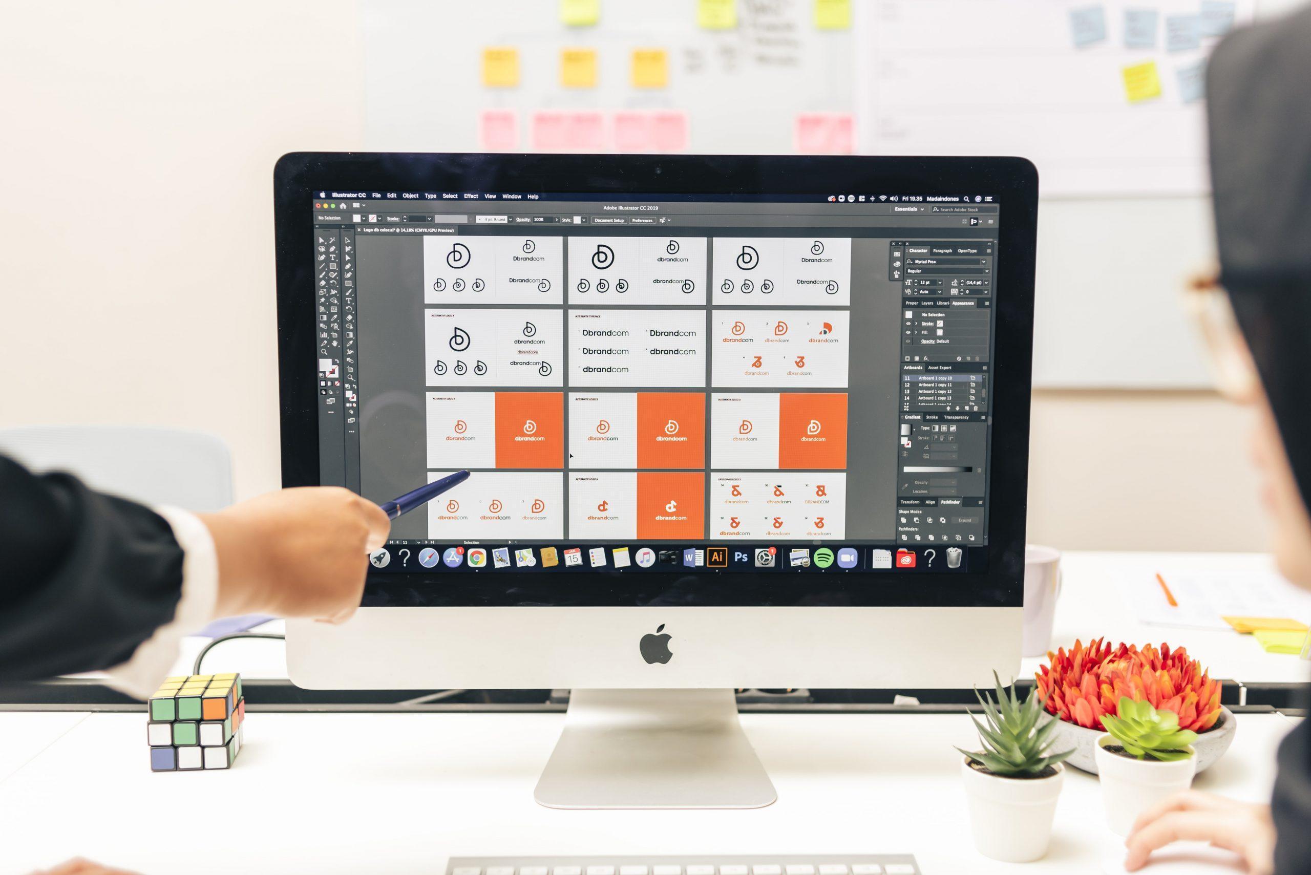 choosing the right logo for better branding in iMac